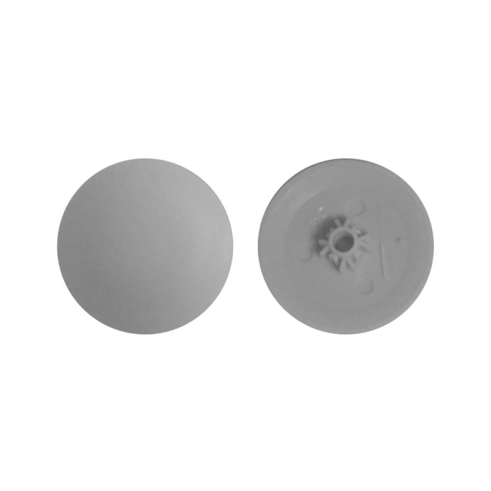 Заглушка под саморез креп-комп №2, светло-серая ph2/pz2 1000шт зпс2 св.серый