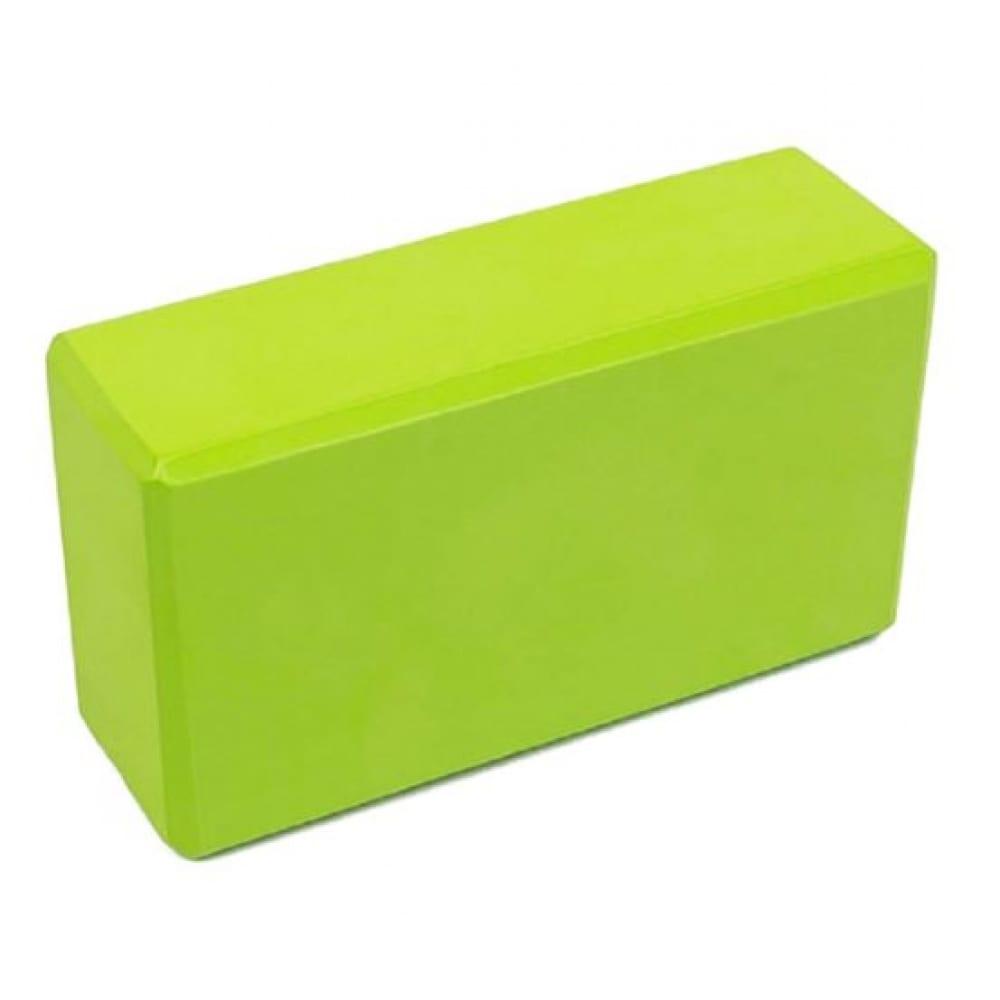 Купить Пенный блок для йоги urm зеленый, 23х15х7.6 мм b00059