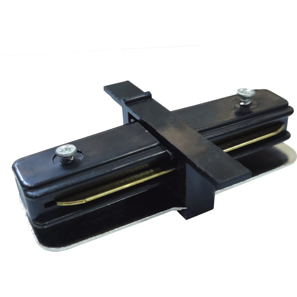 Купить Прямой коннектор для однофазного встраиваемого шинопровода elektrostandard trcm-1-i-bk (электрический соединитель) a049558