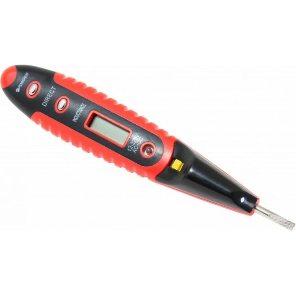 Купить Отвертка-индикатор forsage с подсветкой, 3.5 мм, 5 -125 мм, в блистере f-88403a