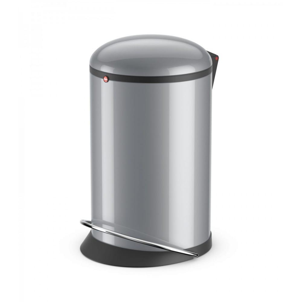 Купить Мусорный контейнер hailo harmony m 12л, сталь, серебро, 0515-020