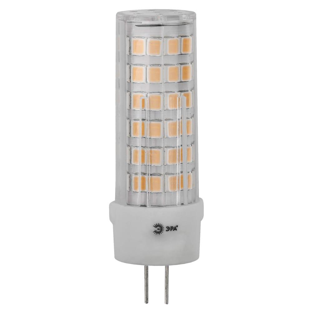 Купить Светодиодная led лампа эра, jc-5w-12v-cer-840-g4 диод, капсула, 5вт, нейтральный, g4 20/500/21000 б0049088