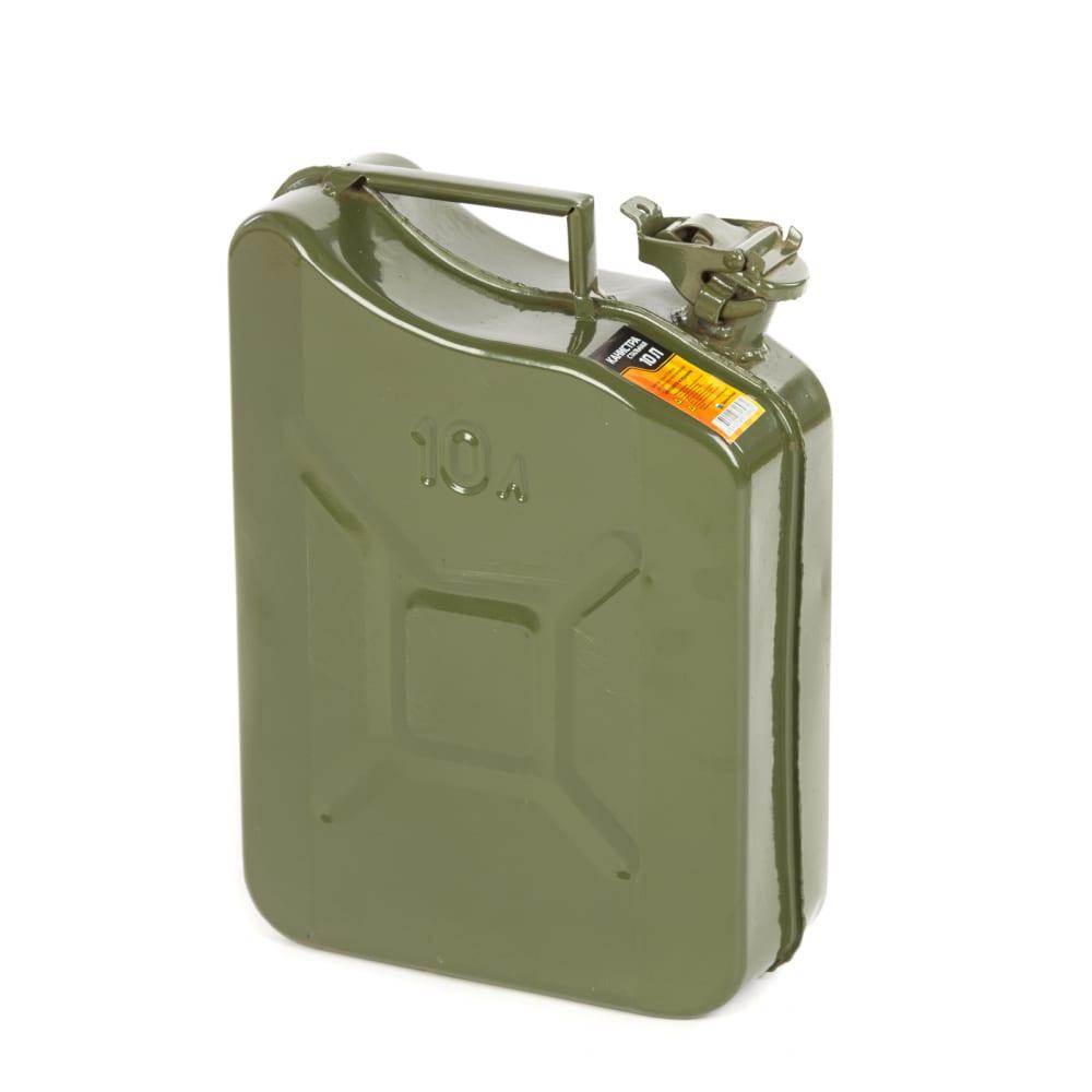 Купить Канистра стальная 10 литров, толщина стали 0.8 мм enifield 112236