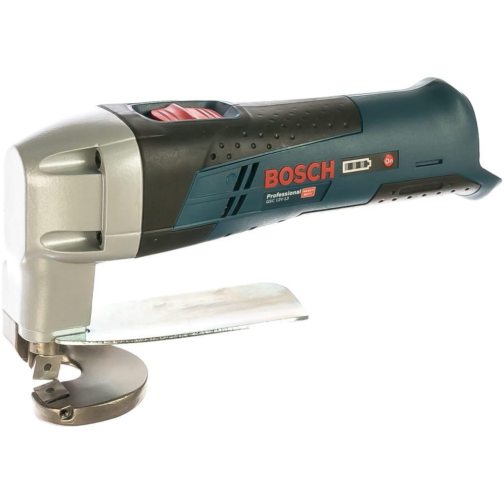 Аккумуляторные ножницы по металлу bosch gsc 10,8 v-li 0.601.926.105