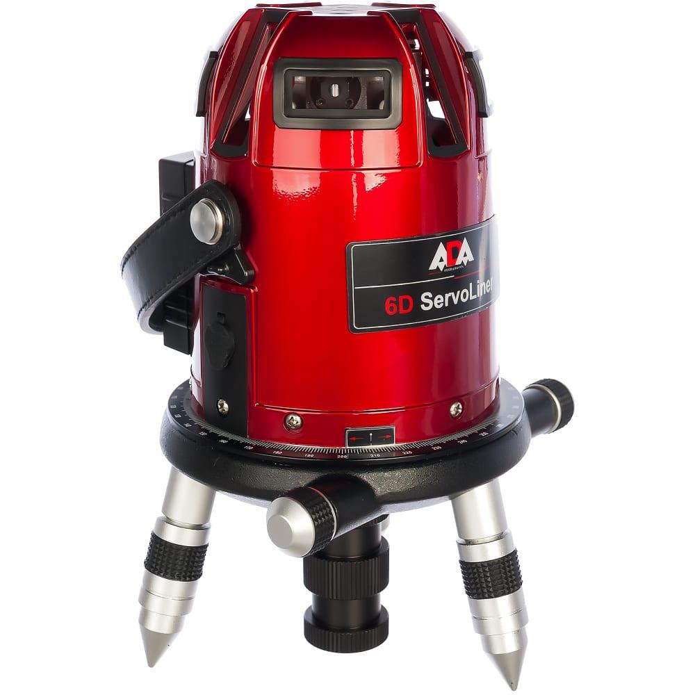Лазерный нивелир (уровень) ada 6d servoliner а00139