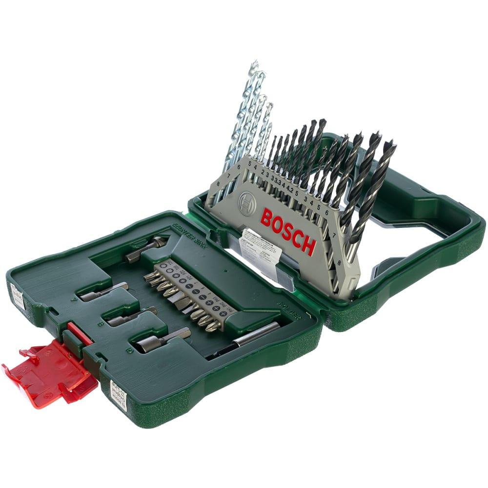 Набор принадлежностей x-line titanium 33 шт. bosch 2607019325