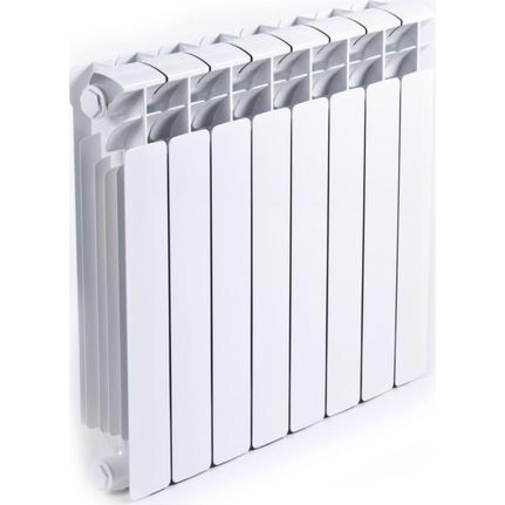 Биметаллический радиатор rifar b-500, 12 секций  - купить со скидкой
