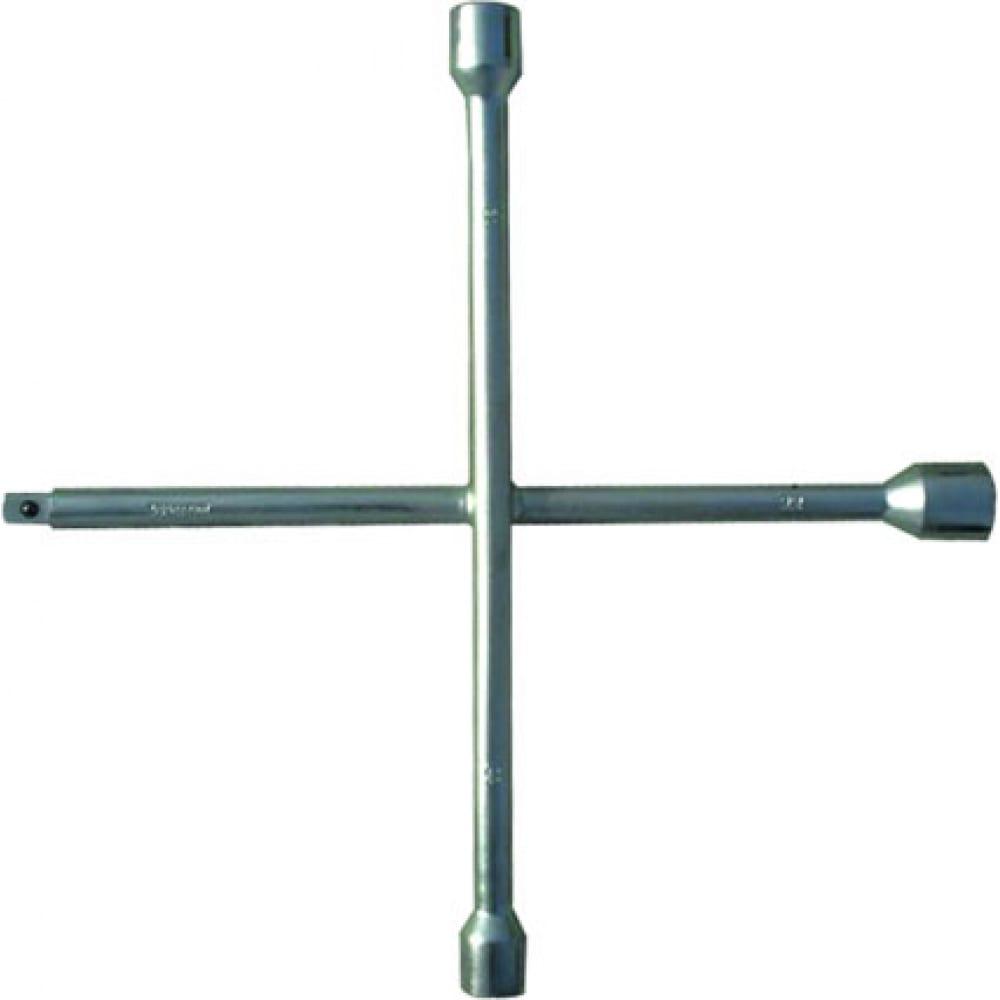 Баллонный ключ-крест сибртех 14258