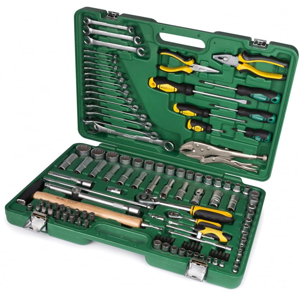Набор автомобильного инструмента из 121 предмета auto арсенал 2203860