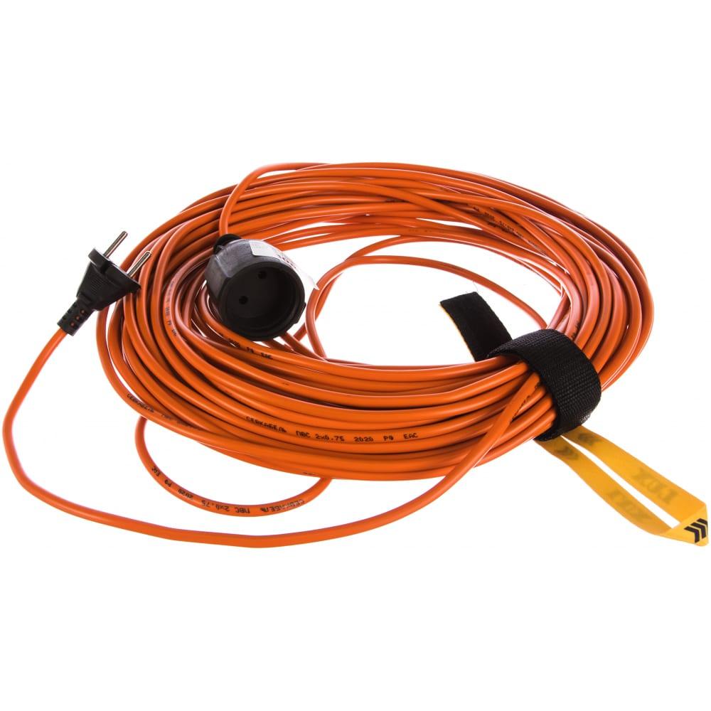 Силовой электрический удлинитель lux ус1-0-30 4606400605324, 30м, 1 розетка