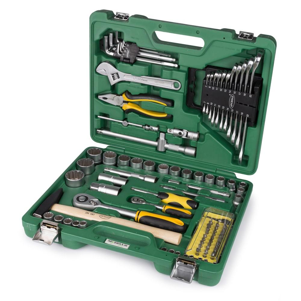 Набор автомобильного инструмента арсенал auto (aa-c1412l98) 2106330.