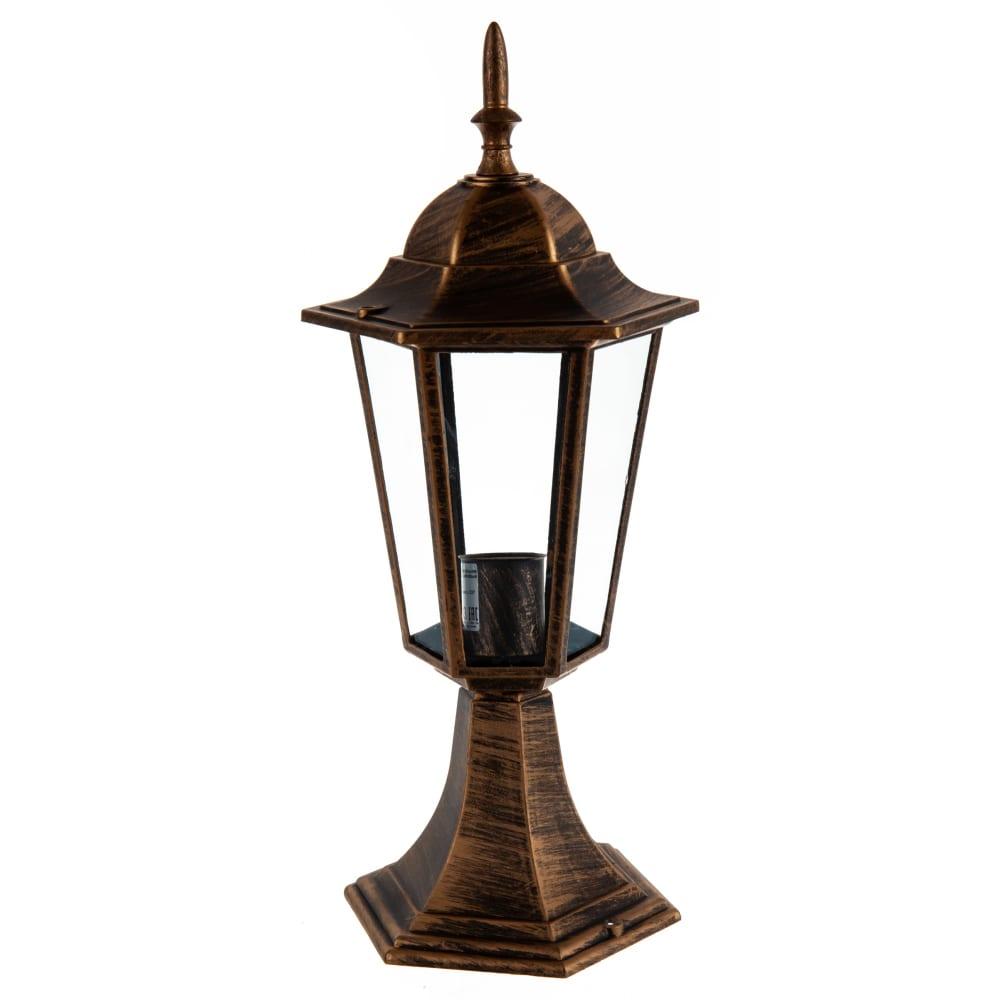 Улично-садовый светильник, бронза, 60вт camelion, 4104, 5646
