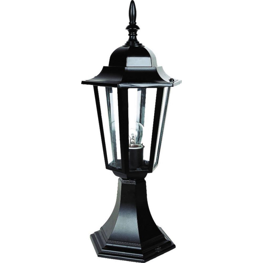 Улично-садовый светильник, черный, 60вт, camelion, 4104, 3351