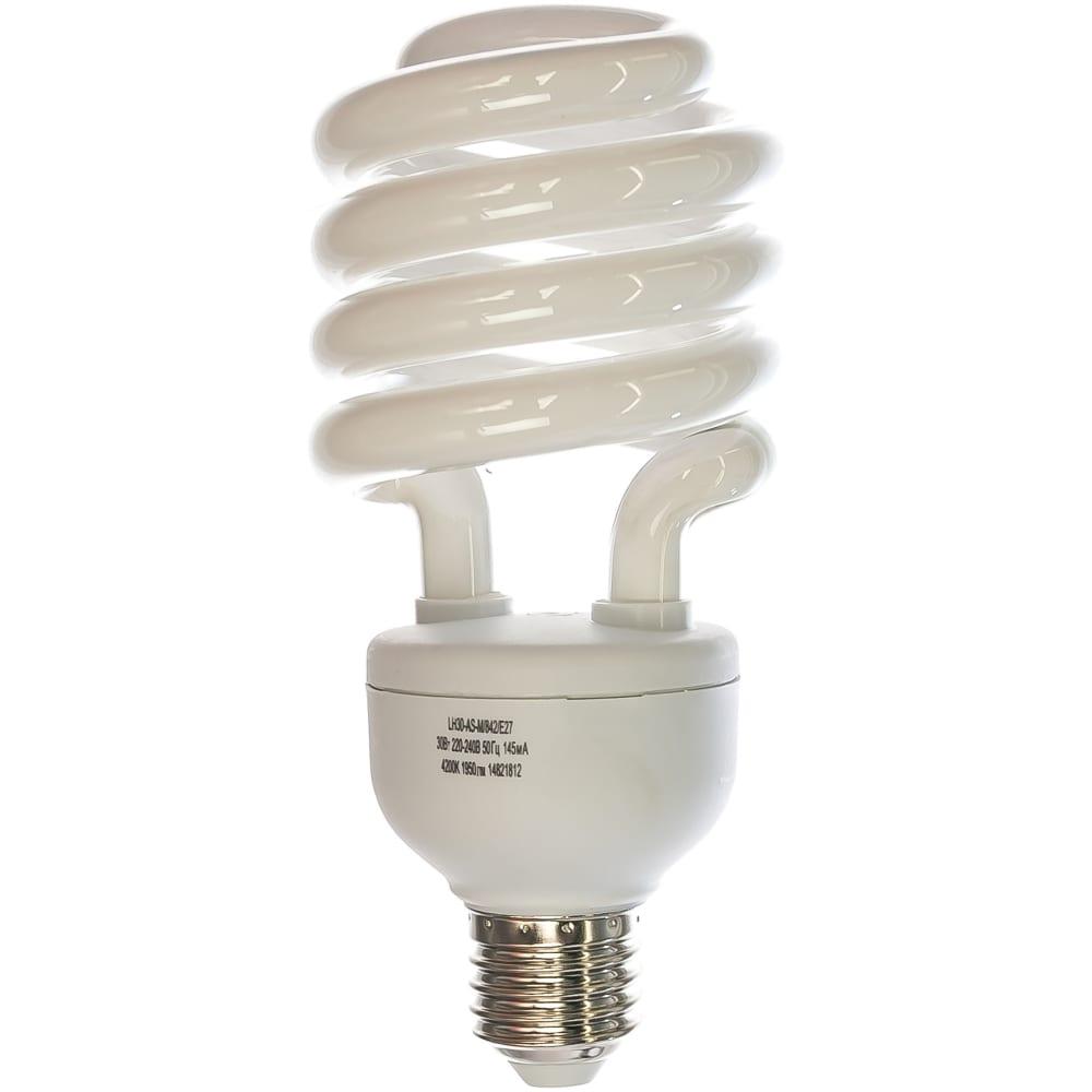Энергосберегающая лампа 30вт camelion lh30-as-m/842/e27, 7980