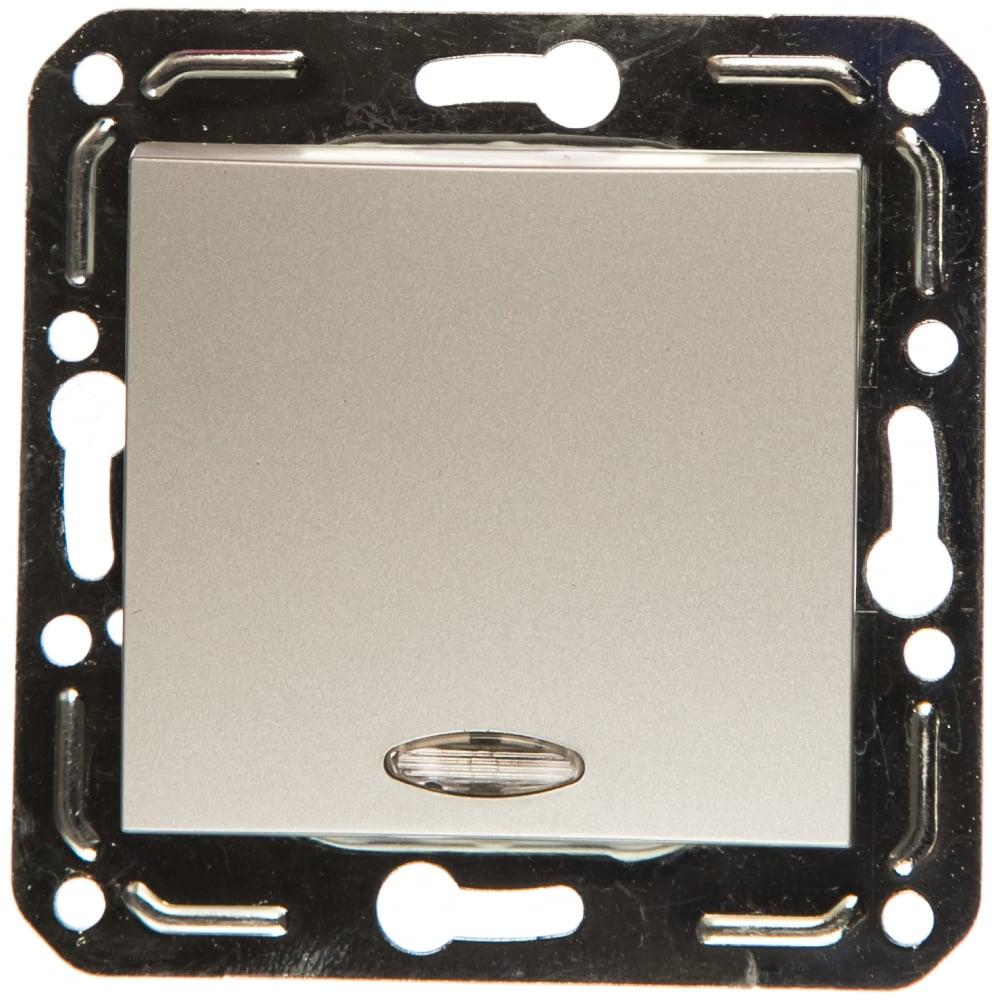 Проходной выключатель volsten magenta argento v01-15-p12-m 10019