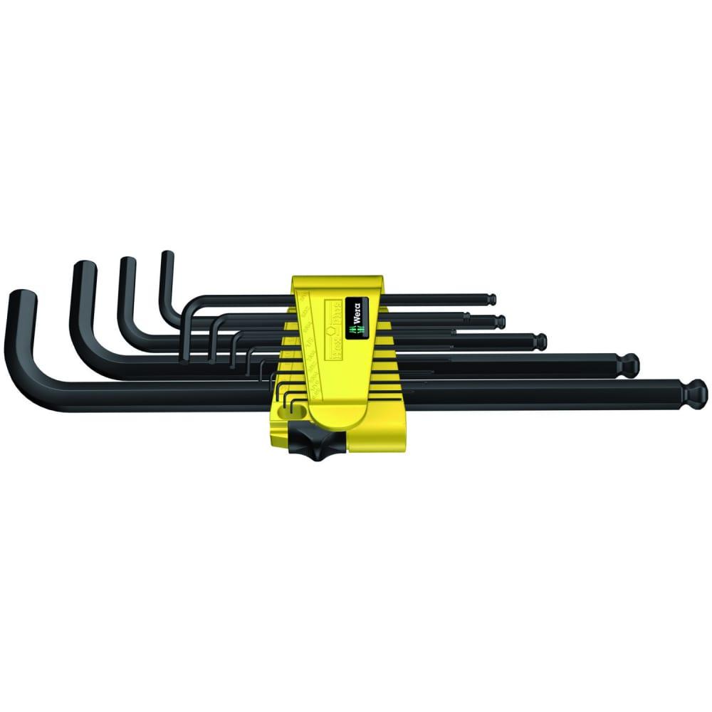 Набор г-образных ключей 950 pkl/13 sz n clip 13tlg/ 13 pcs wera we-021728