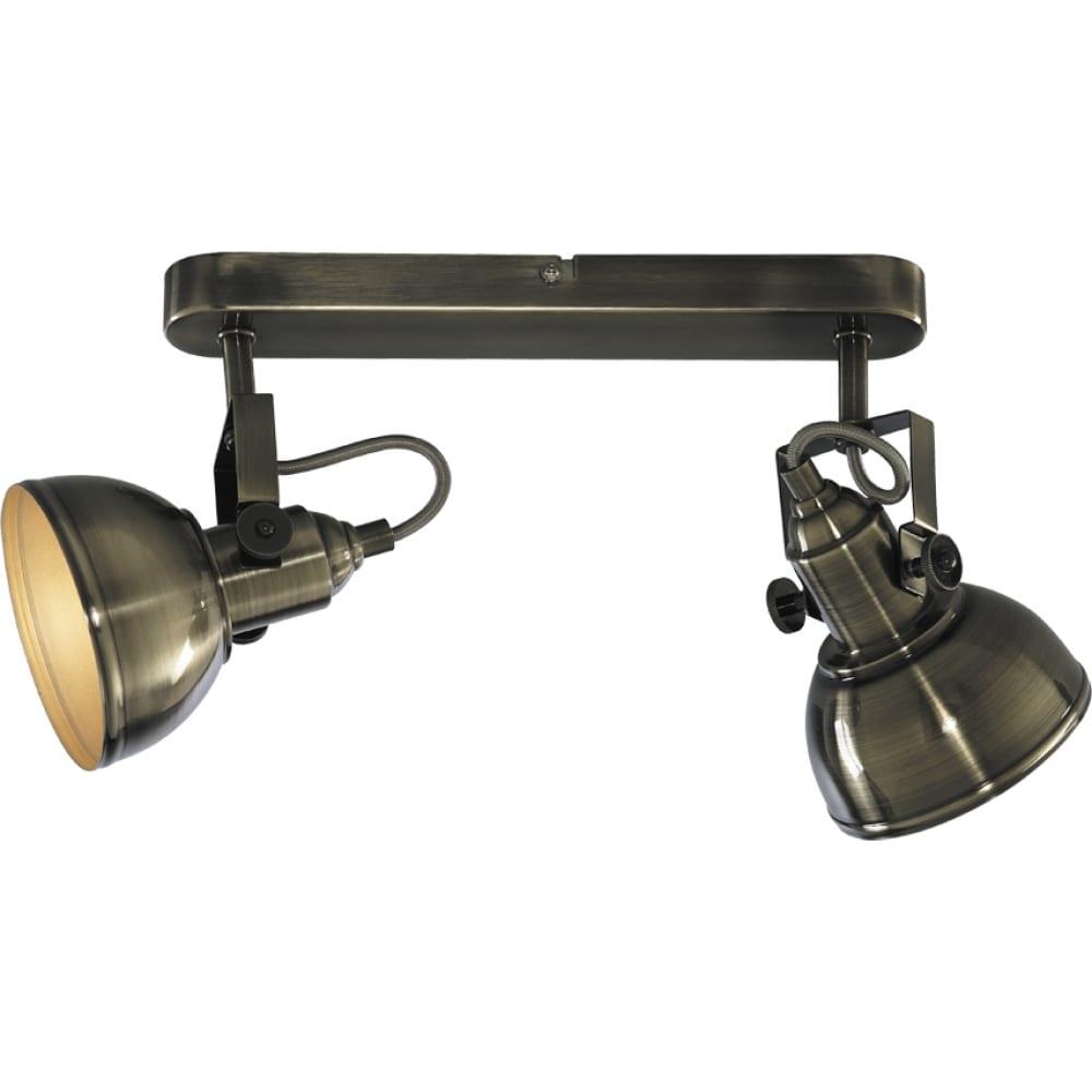 Настенный светильник arte lamp a5213ap-2ab