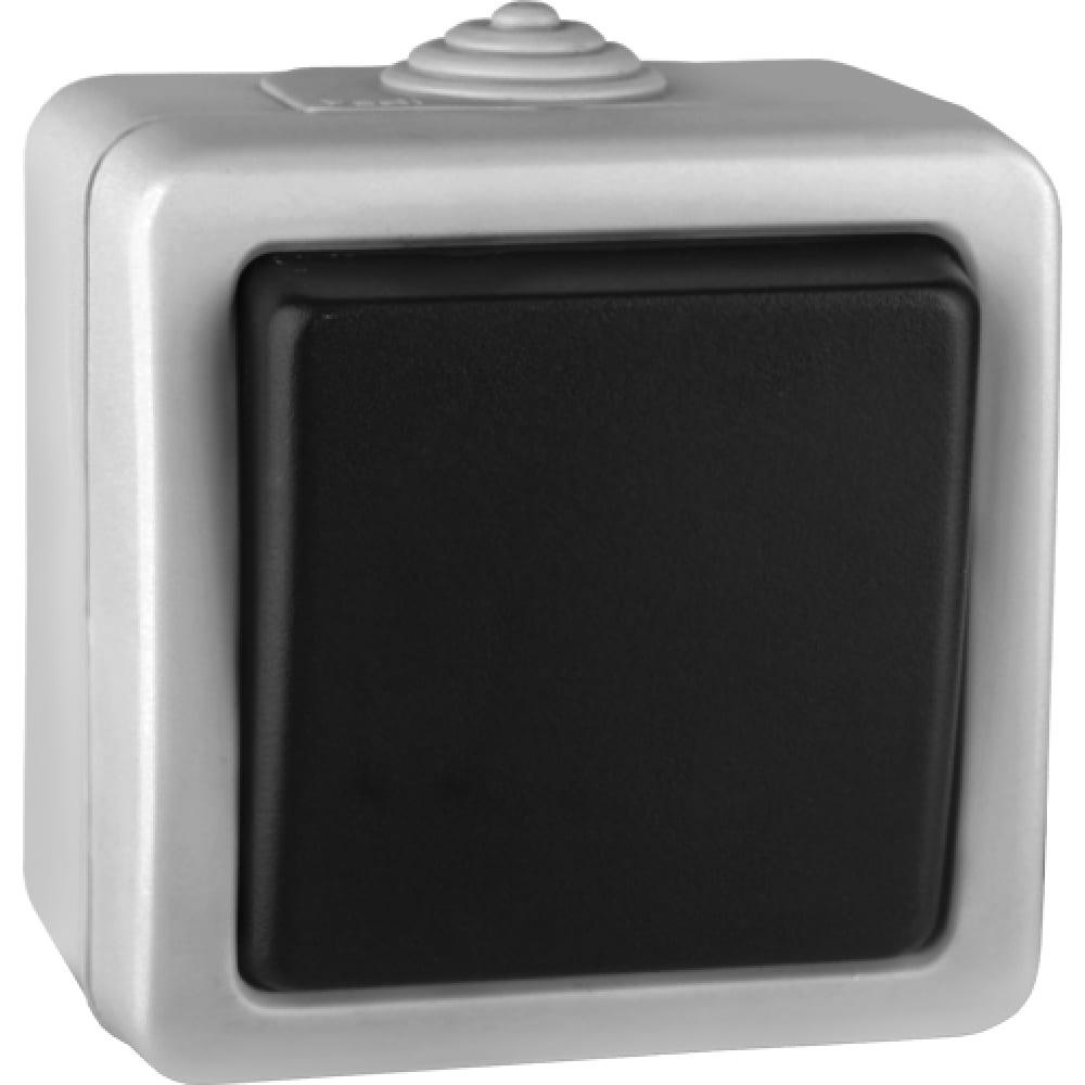 Выключатель volsten v01-43-v11-s  marin grey, 9441
