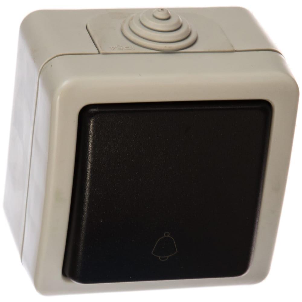 Кнопочный выключатель volsten v01-43-z11-s marin grey, 9447