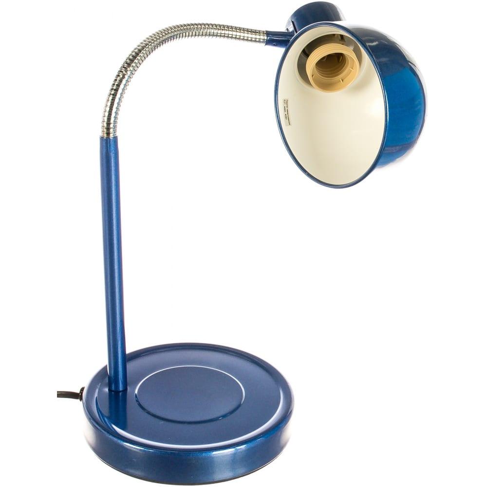 Настольный светильник, синий camelion kd-306, 10500