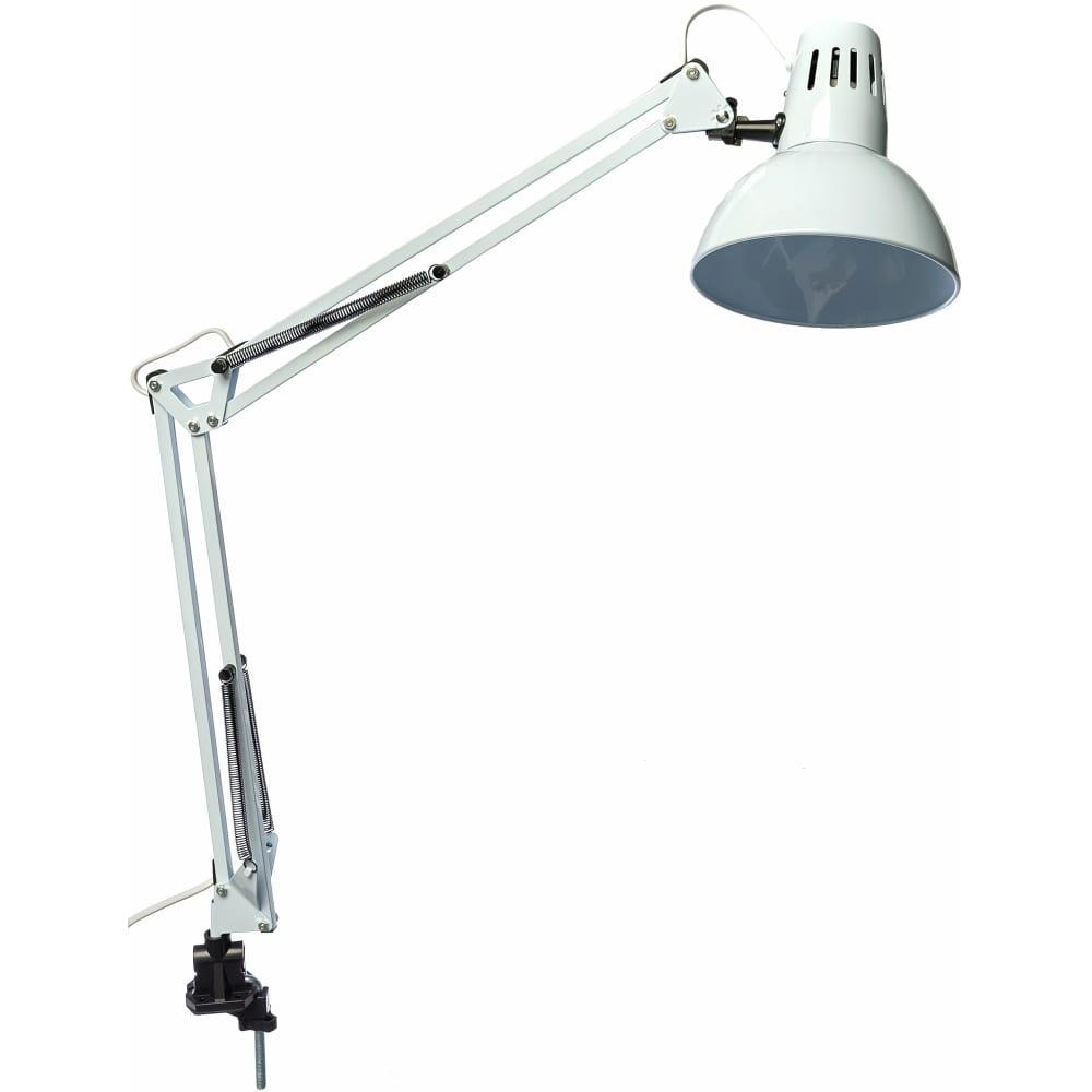Лампа настольная camelion kd-312 белая, 5764