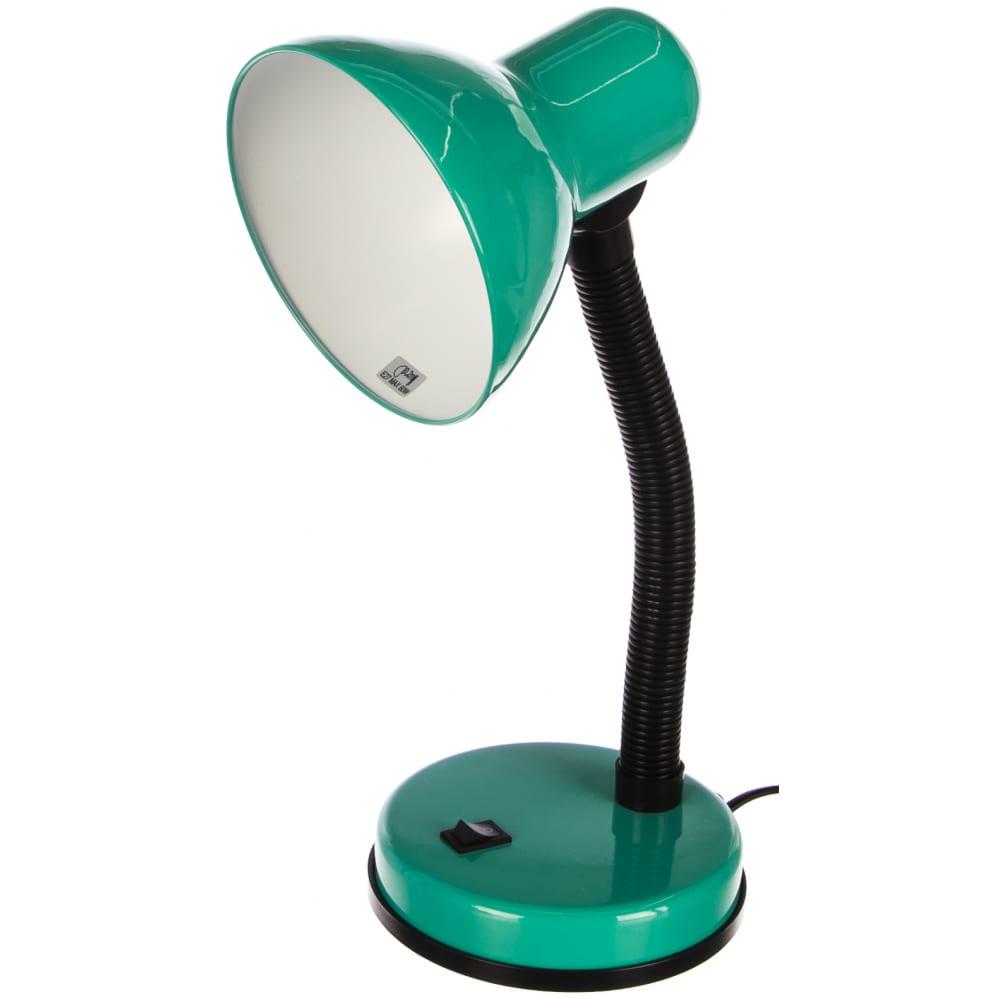Настольный светильник, зеленый camelion kd-301, 7140