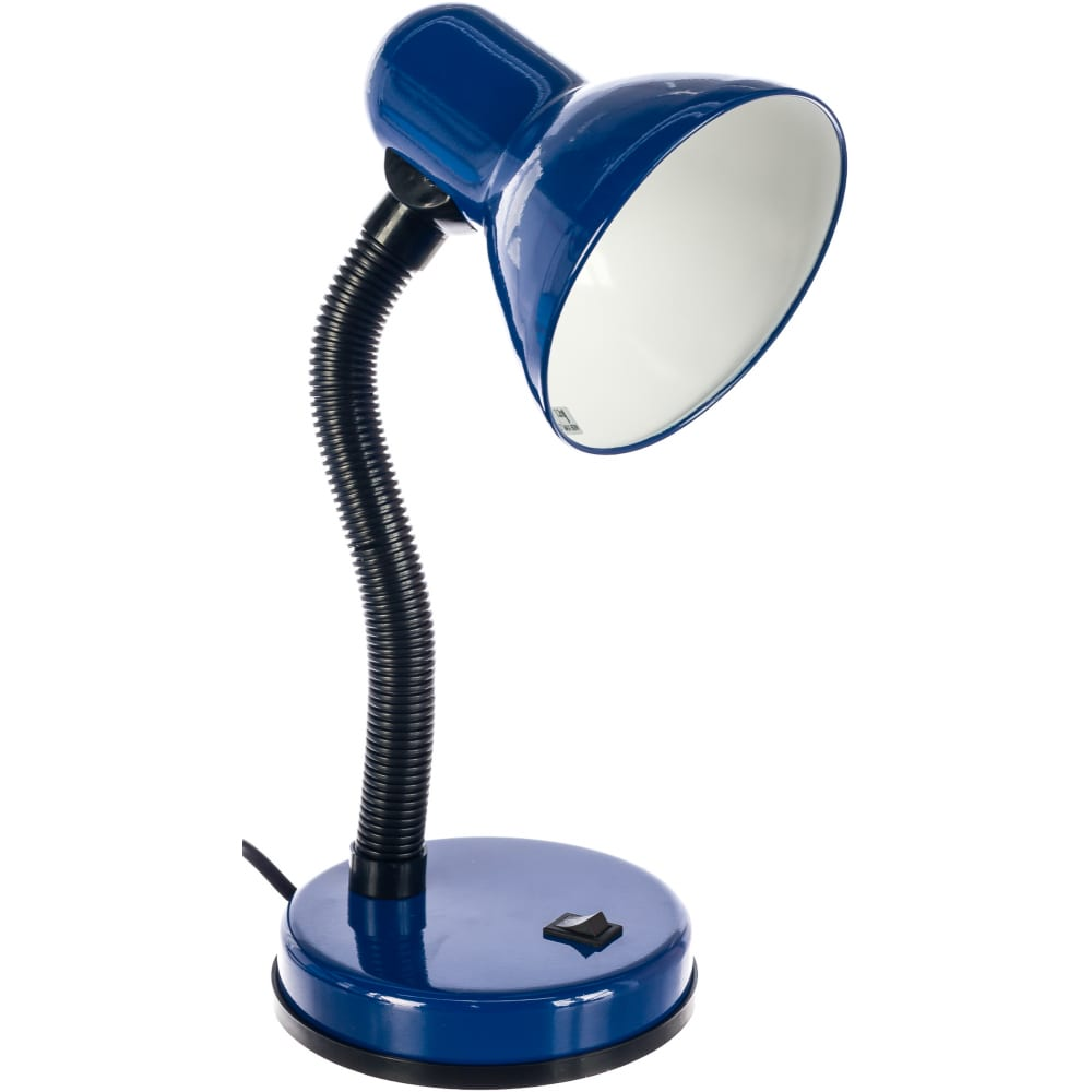 Настольная лампа camelion kd-301 синяя, 5752