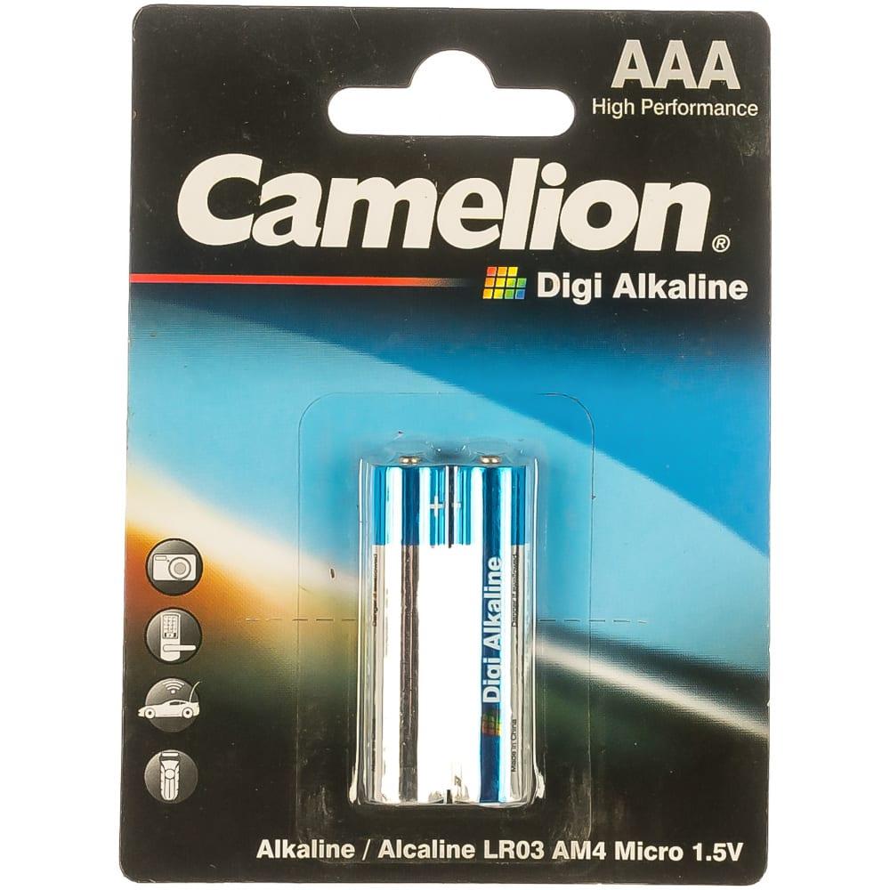 Батарейка 1.5в camelion, lr 03 digi bl-2, 9279  - купить со скидкой