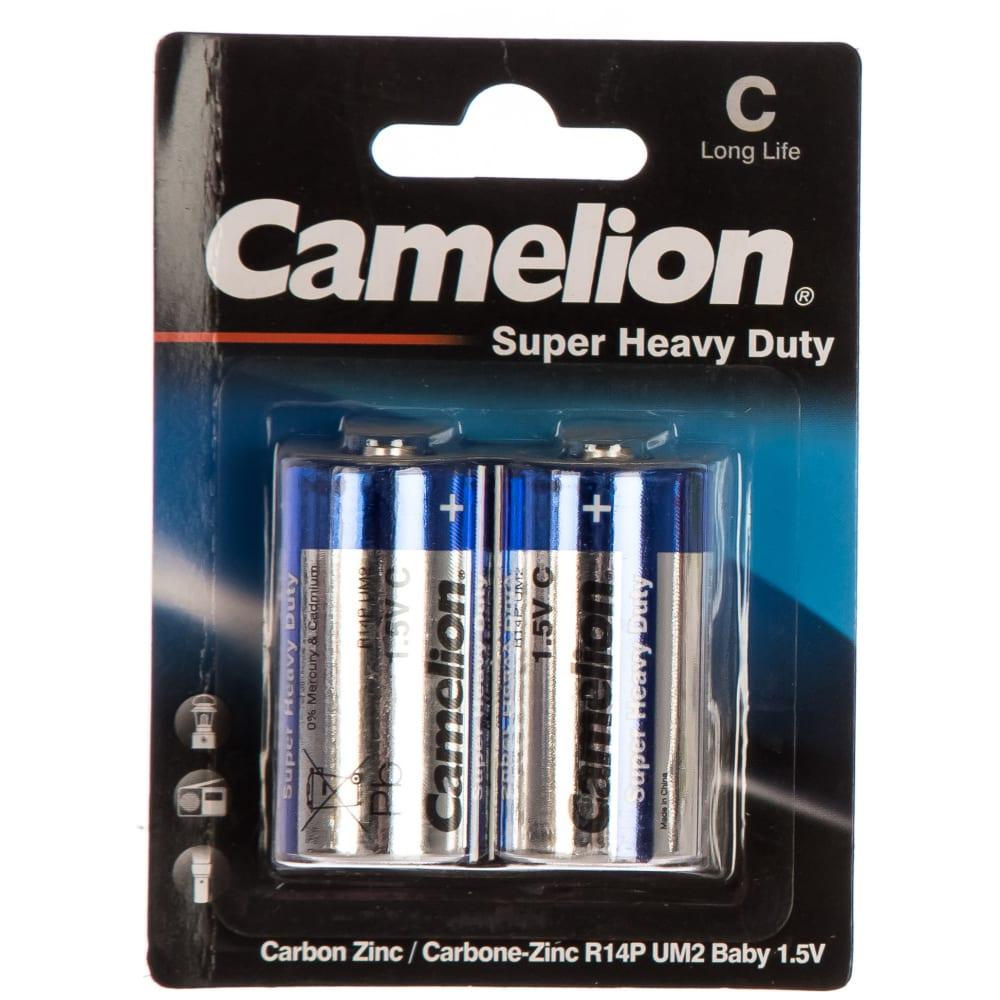 Купить Батарейка 1.5в camelion, r14 blue bl-2, 3216