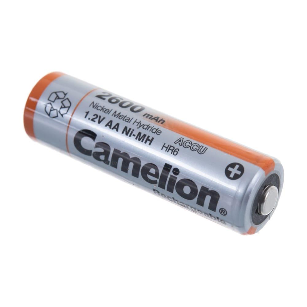Аккумулятор camelion 1.2в aa-2600mah ni-mh bl-2, 6183