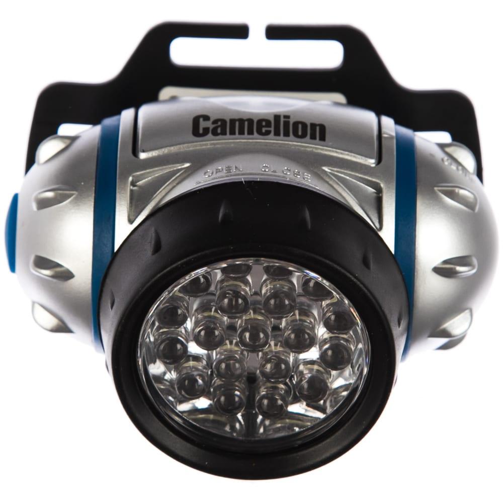 Налобный фонарь camelion led 5313-19f4, 7537
