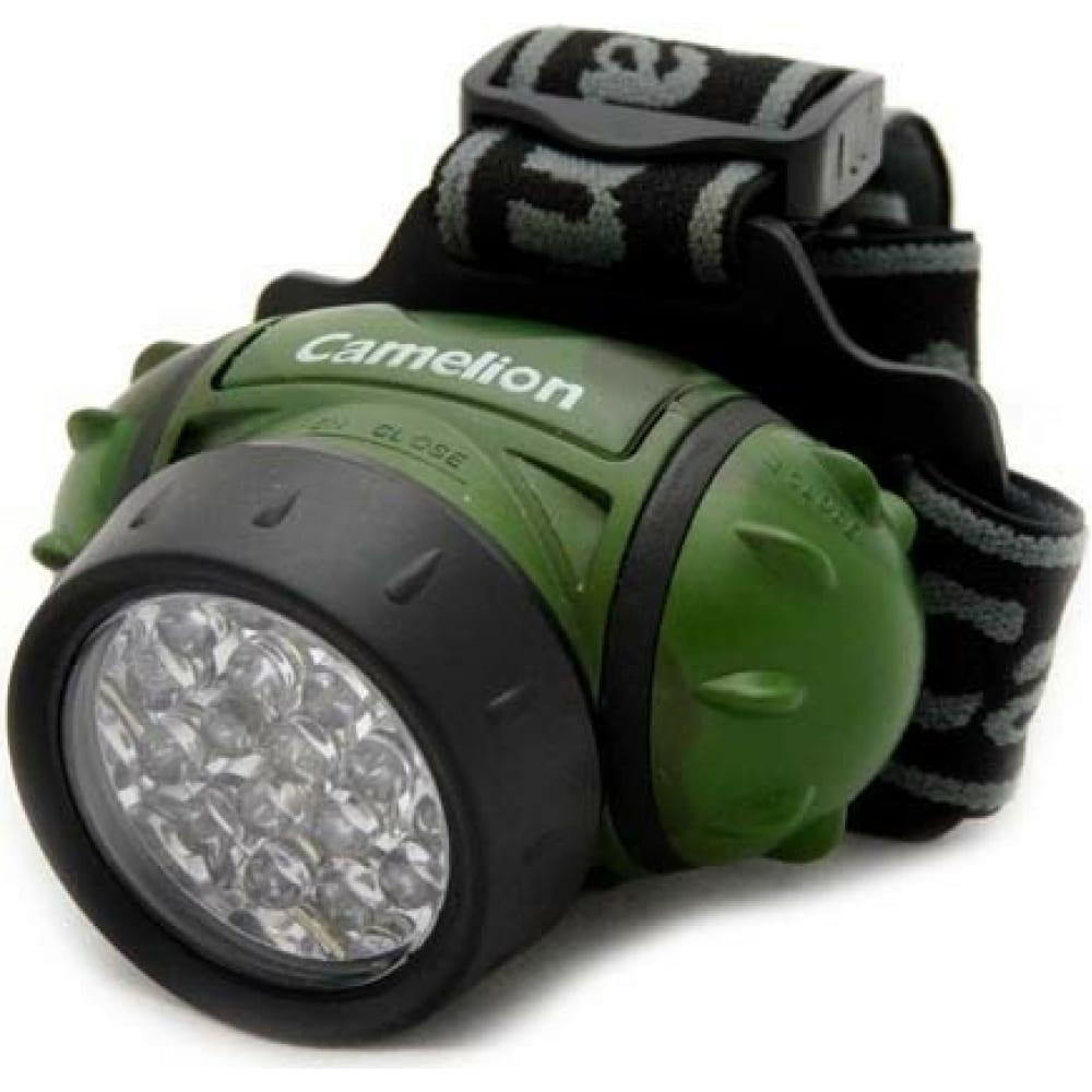 Налобный фонарь camelion led 5313-19f4ml, 7538