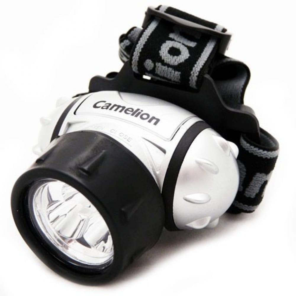 Налобный фонарь camelion led 5321-3mx, 7971