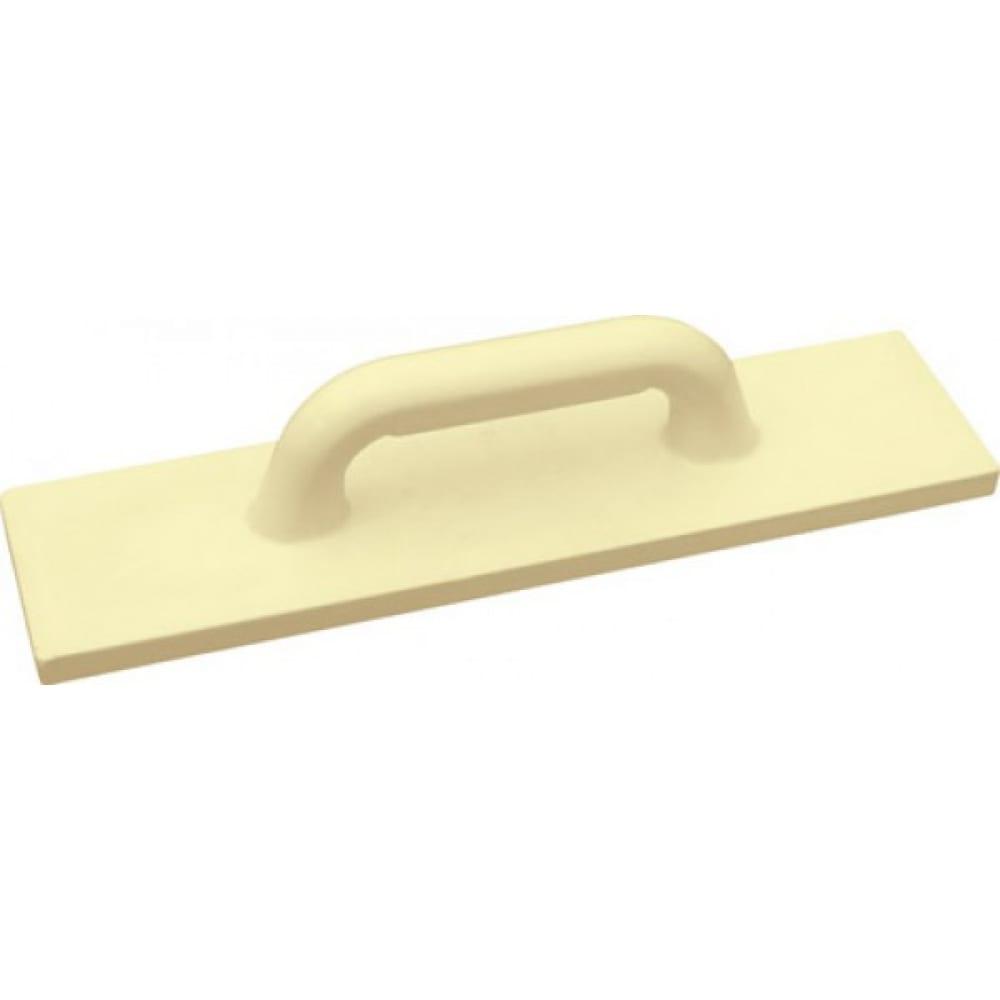 Купить Полиуретановая желтая терка 220х420 мм рос профи 05619