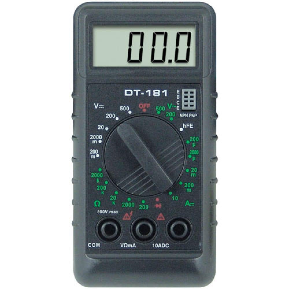Мультиметр ресанта tek dt 181