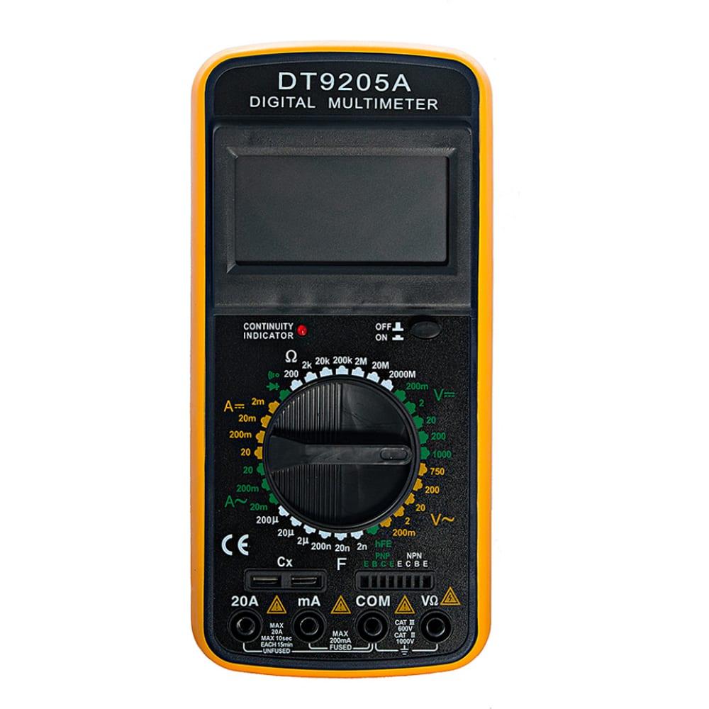 Мультиметр тек dt 9205a