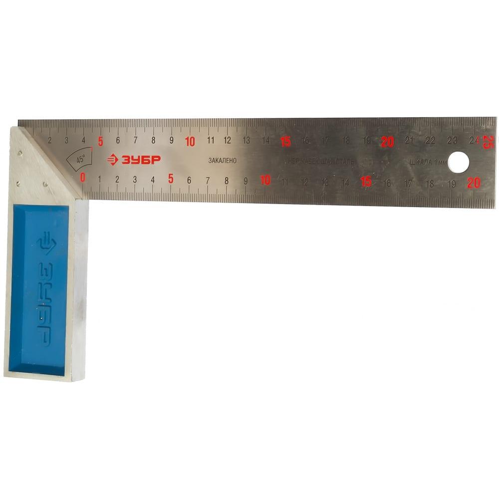 Столярный угольник 250 мм зубр эксперт 34393-25