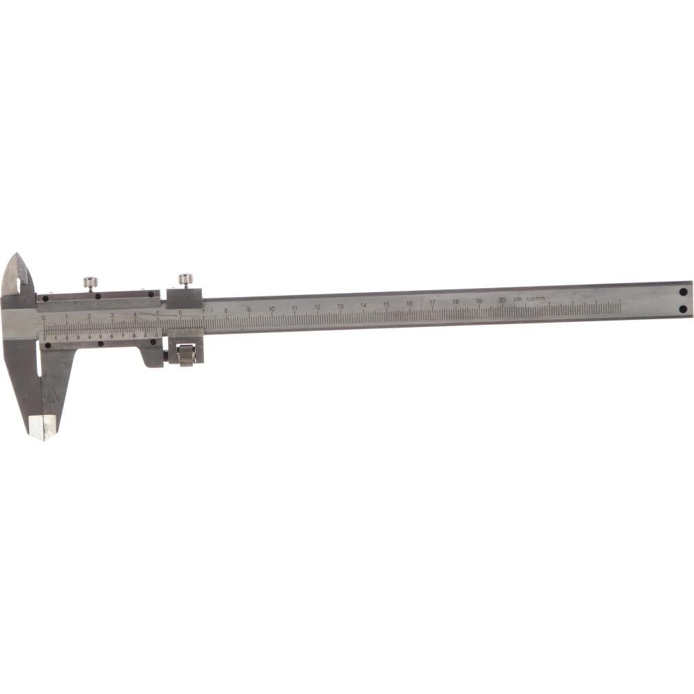 Штангенциркуль с глубиномером 200 мм matrix 316325