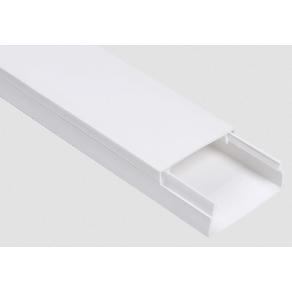 Кабель-канал iek 80x60 элекор длина 2 м ckk10-080-060-1-k01-008, цвет белый