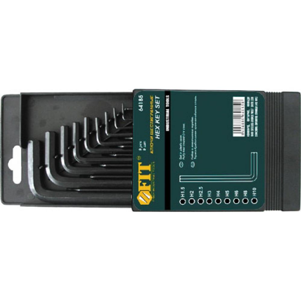 Набор шестигранных ключей hex fit 64185