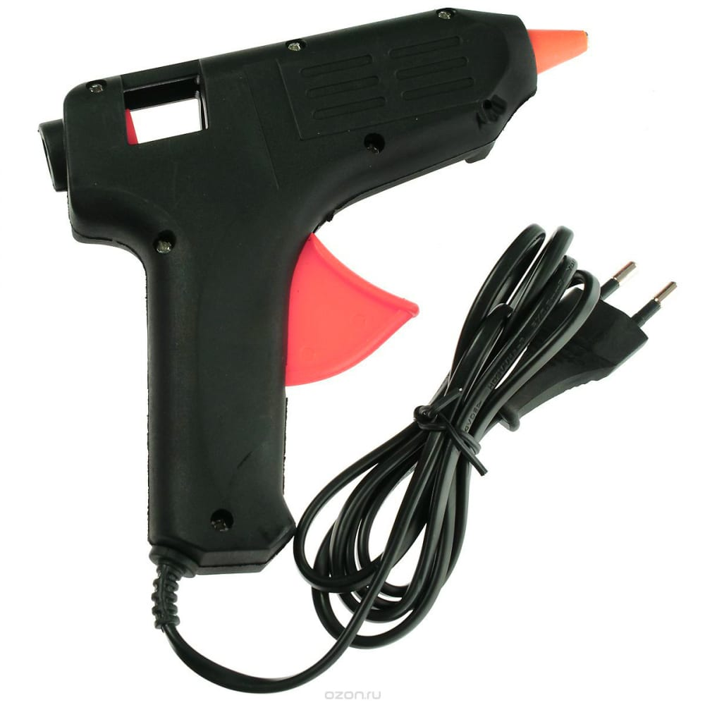 Термоклеевой пистолет профи fit 14336