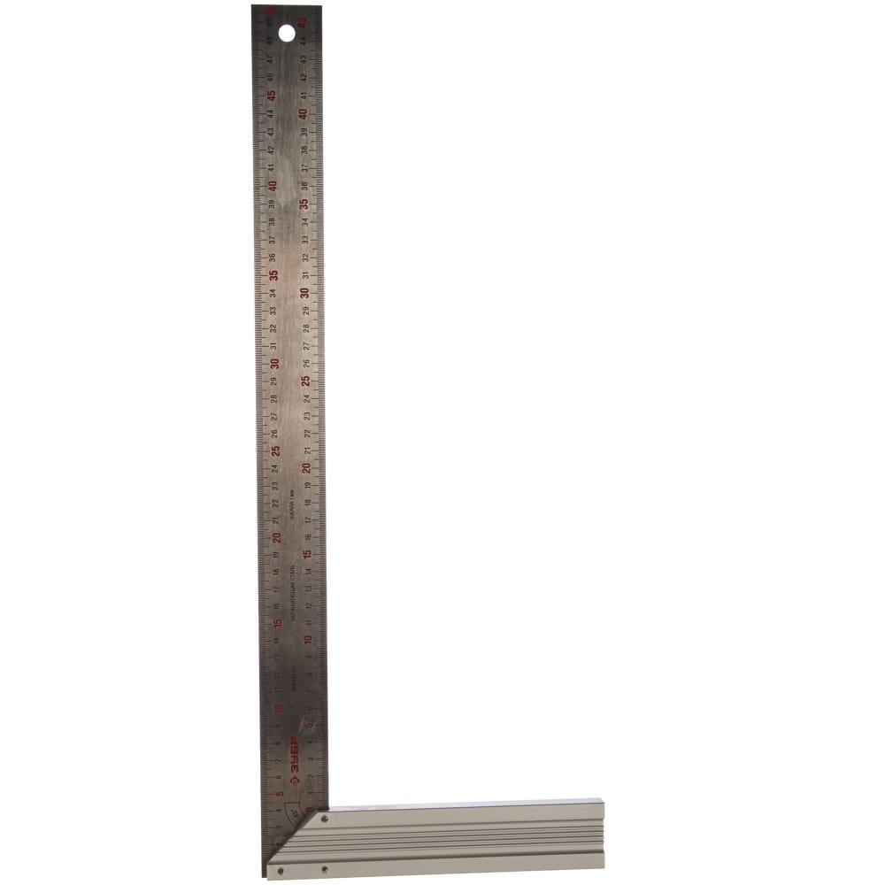 Столярный угольник 500 мм зубр эксперт 34394-50