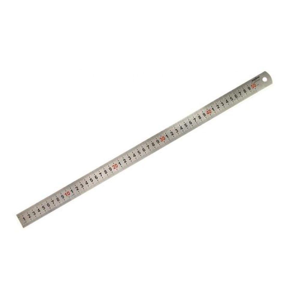 Металлическая линейка 500 мм ombra a90008