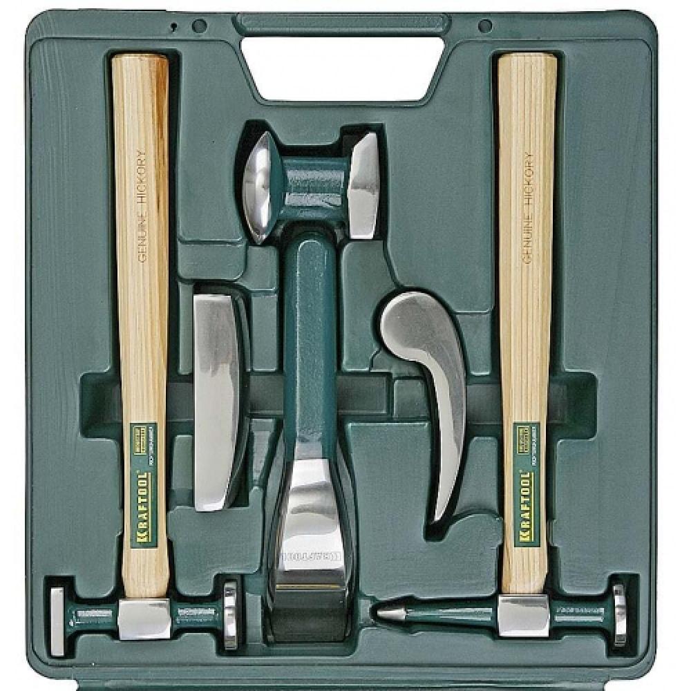 Рихтовочный набор 6 предметов kraftool 20371-h6