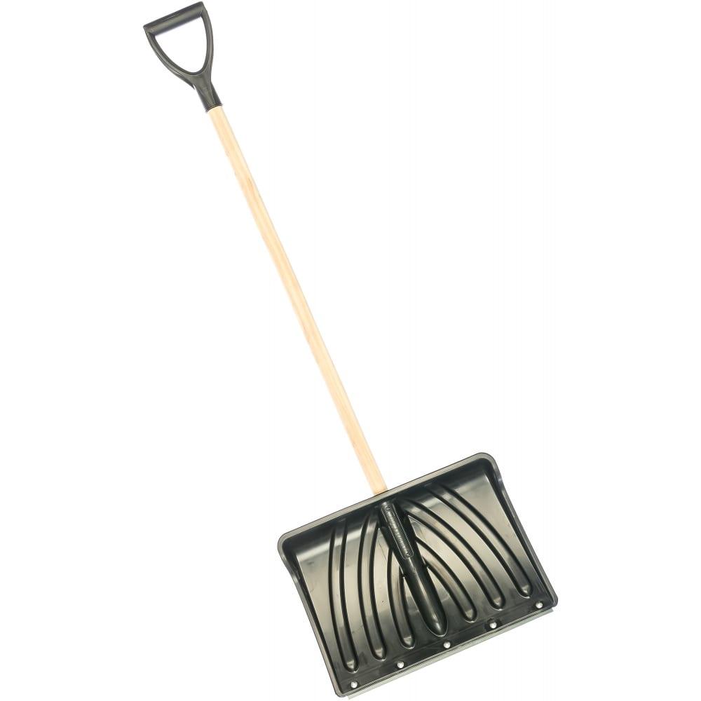 Купить Снеговая лопата с деревянным черенком v-ручкой cicle крепыш