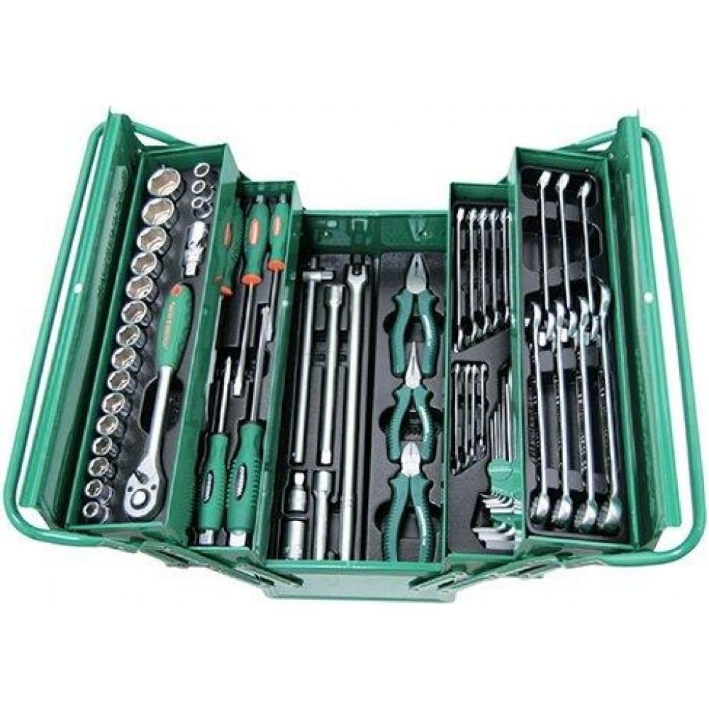 Универсальный набор инструментов 62 предмета jonnesway c-3dh262