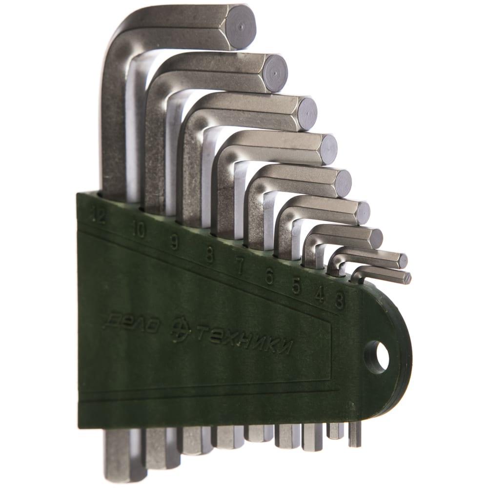 Купить Набор шестигранных коротких ключей 9 шт дт/40 дело техники 561093