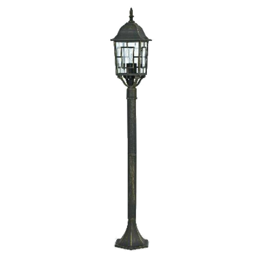 Уличный фонарь столб park family duwi 24128 7, 110см, черный с золотом