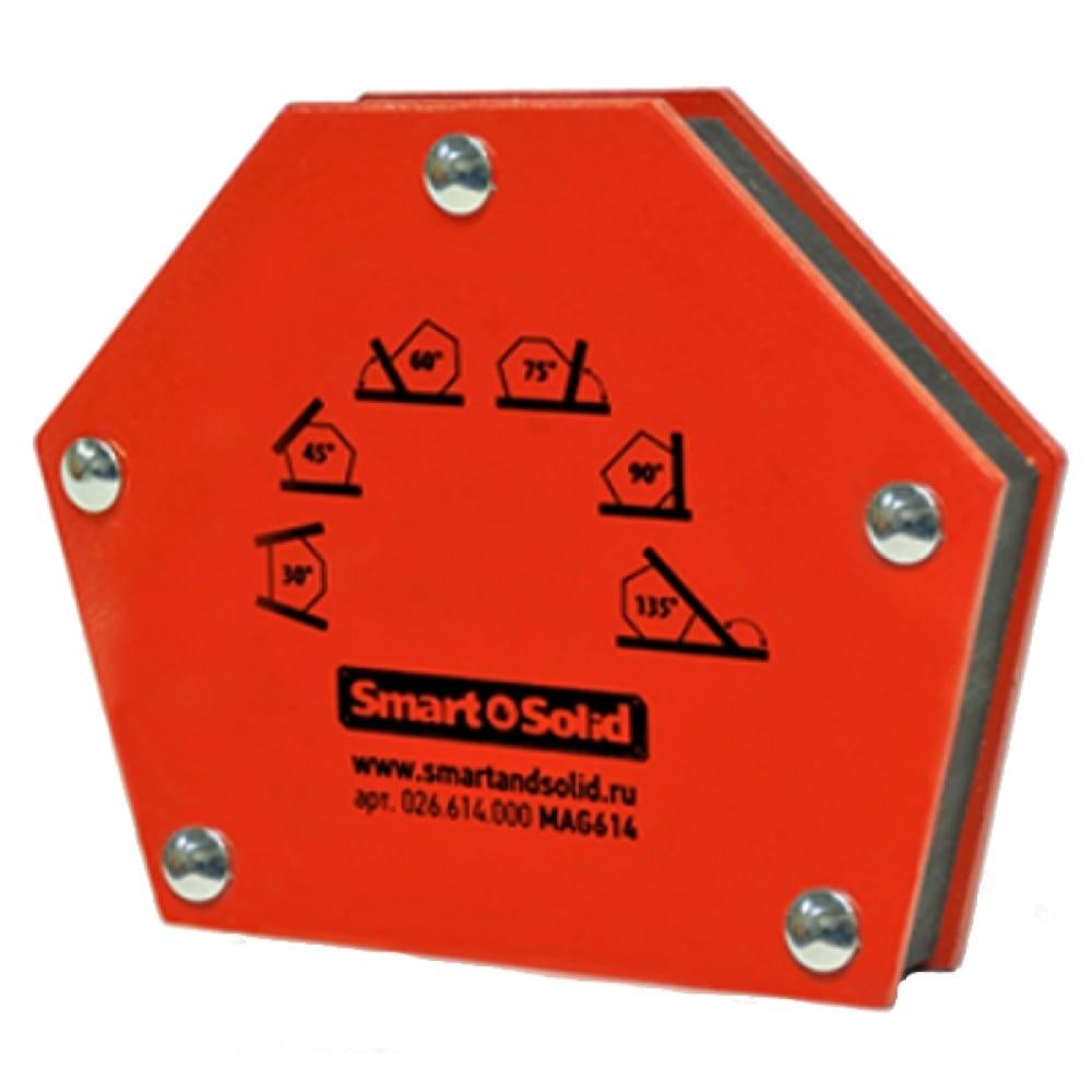 Угольник магнитный универсальный mag614 для сварки smart&solid