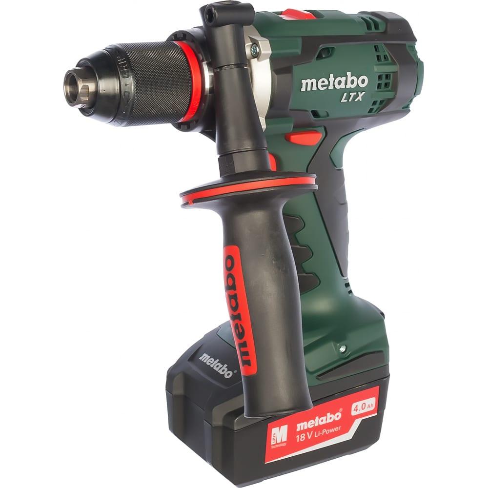 Аккумуляторный винтоверт metabo bs 18 ltx impuls 602191500